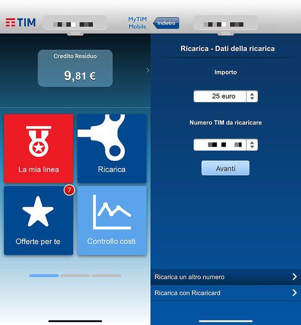 App MyTIM Mobile