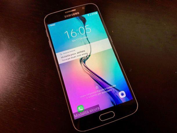 Come togliere modalità sicura Samsung