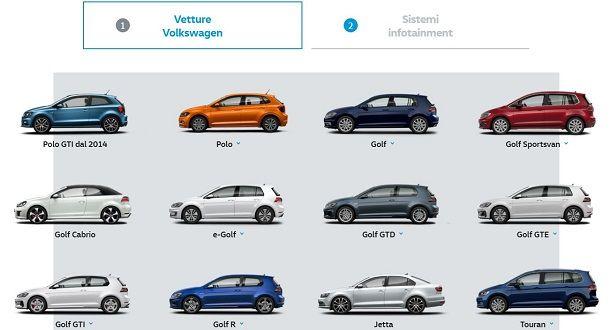 Vetture Volkswagen