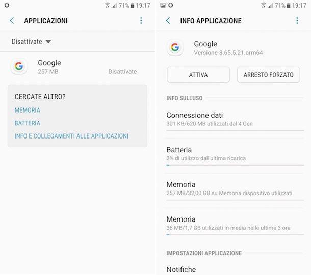 Come rimettere barra Google su Samsung