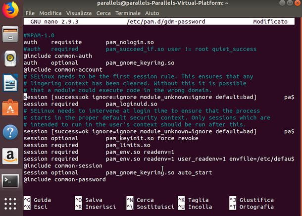 Come loggarsi come root Ubuntu