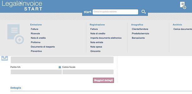 Registrazione fatture Legalinvoice