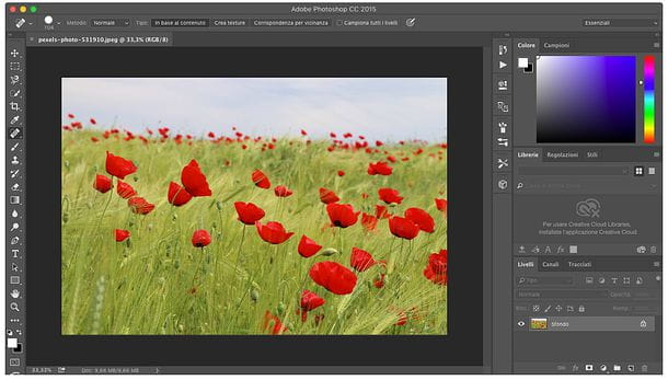 Come clonare con Photoshop