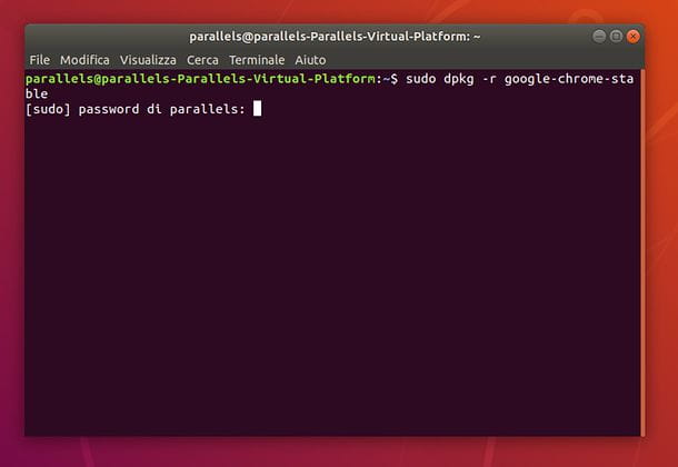 Come disinstallare Google Chrome da Ubuntu