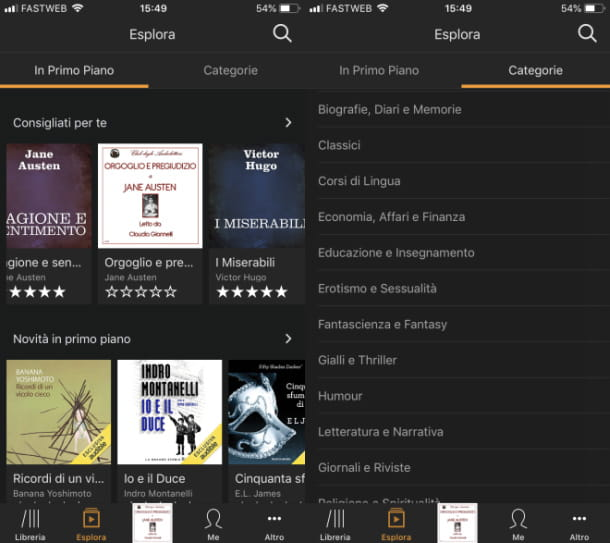 Audible App libri gratis