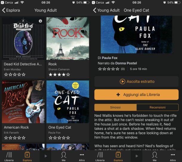 Audible inglese app