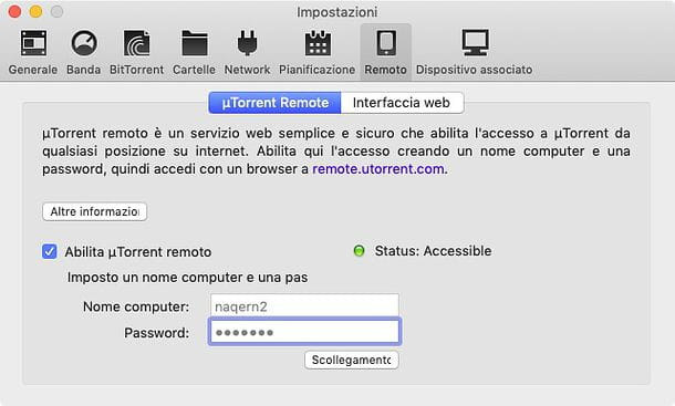 Come comandare uTorrent da Android