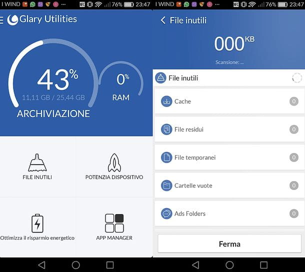 Glary Utilities per Android