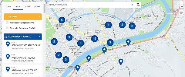 PayPal mappa Lottomatica