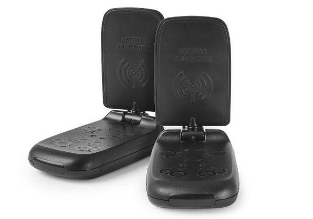 con ripetitore di telecomando compatibile Sky e Premium collegamenti via Scart Ripetitore segnale MEUCCI TV 5,8 GHz