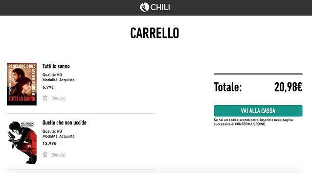 Carrello CHILI