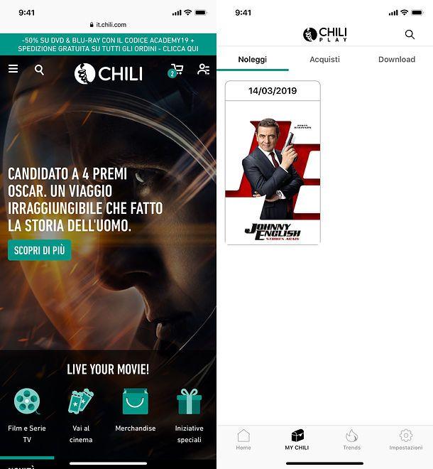 CHILI per iOS