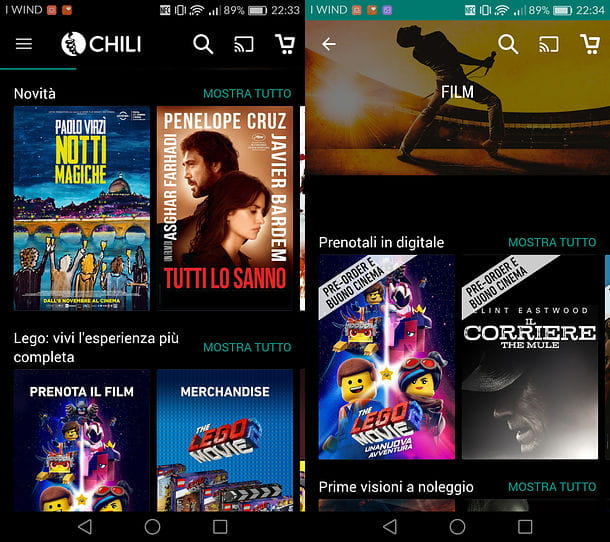 CHILI per Android