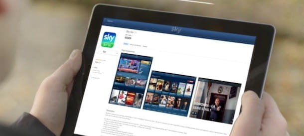Sky Go su tablet