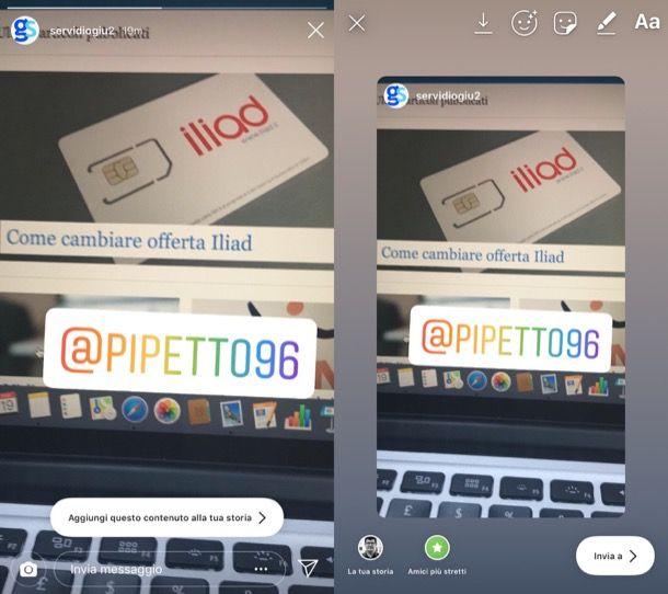 Come condividere video su Instagram di altri utenti