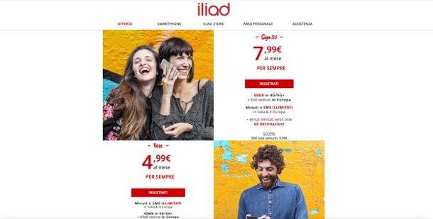 Come passare da TIM a Iliad