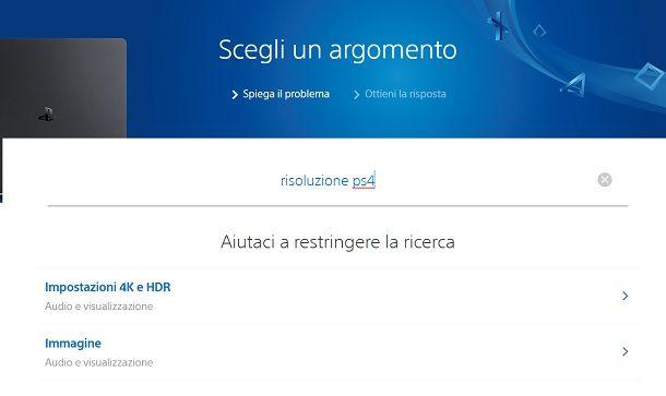 Assistenza Sony