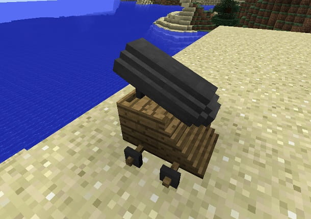 cannone minecraft