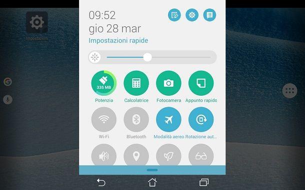 centro notifiche android