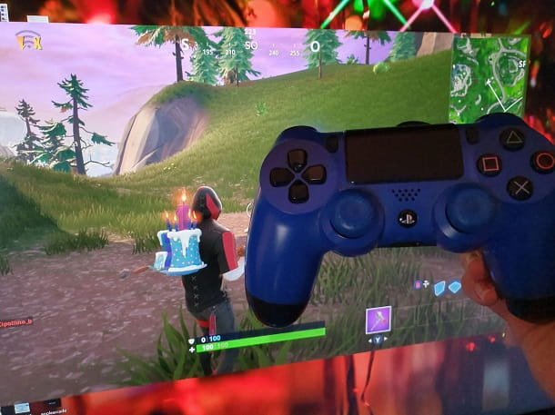 Controller PS4 Fortnite