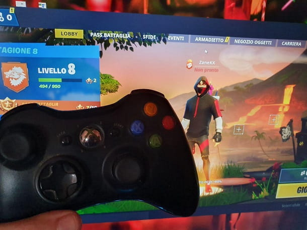 Controller Xbox 360 Fortnite