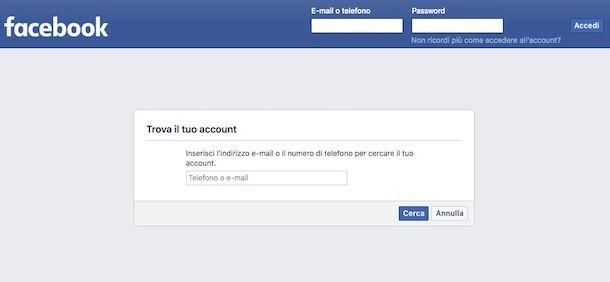 Come faccio a vedere la mia password di Facebook