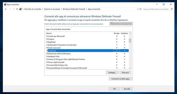 Firewall Windows 10