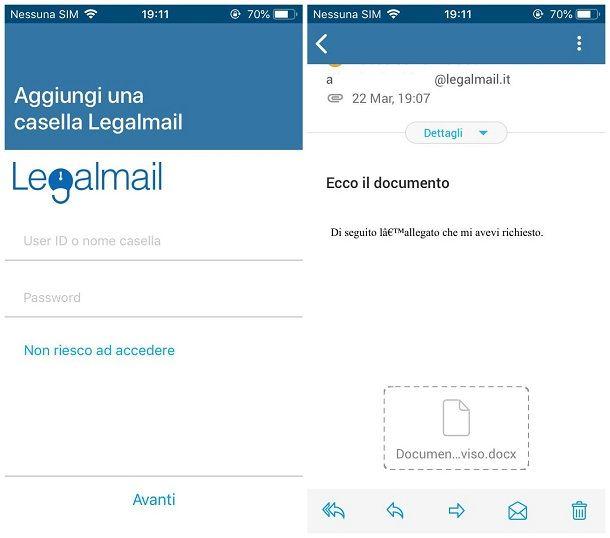 come leggere la posta certificata su iphone