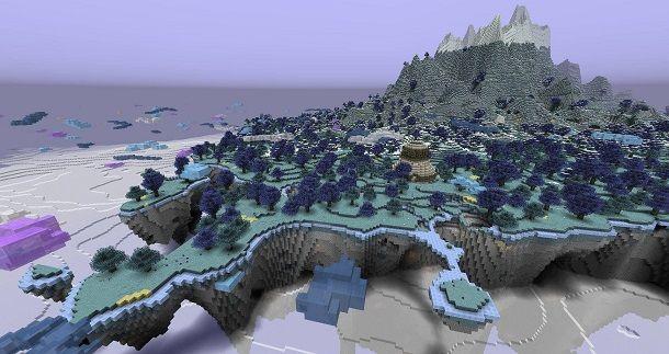 Paradiso su Minecraft