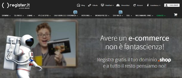 Come configurare email Register su Android
