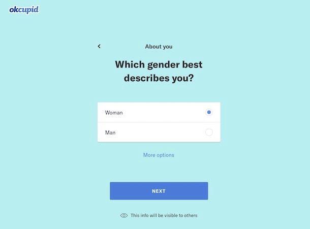 OkCupid: come funziona