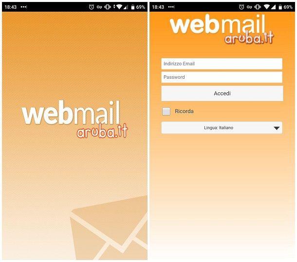 Come configurare email Aruba su Android