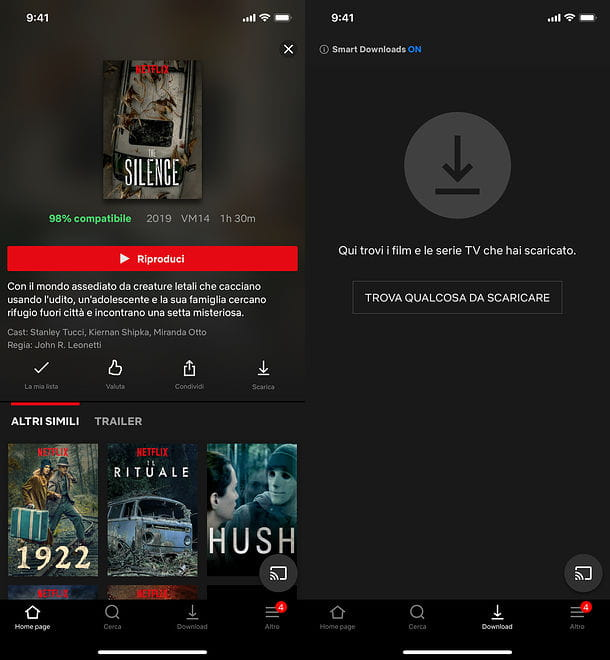 Download film su iPhone