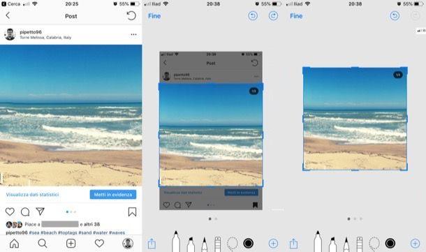 come salvare foto da instagram sul cellulare