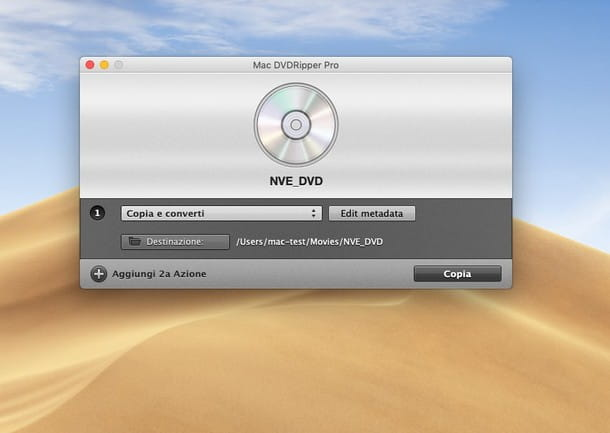 Come copiare un DVD protetto su chiavetta USB - Mac