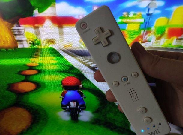 Mario Kart Wii Controller