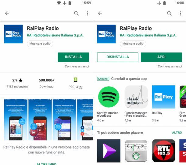 Rai Play Radio Android