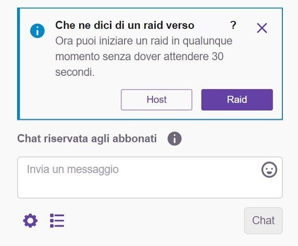 Raid Twitch