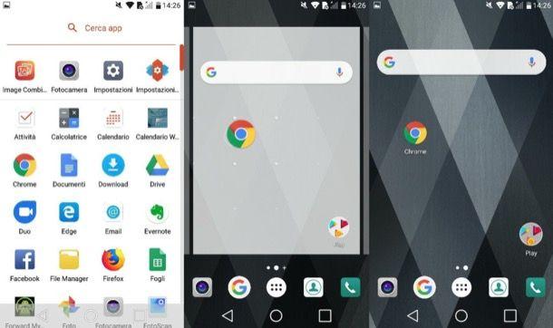 come mettere l'icona di google sul cellulare
