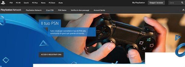 Sito Web PlayStation