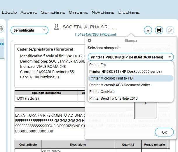 Come convertire un file XML in PDF gratis - AssoInvoice