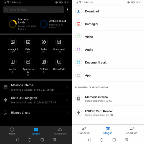 app gestione file android
