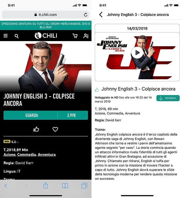 Come scaricare serie TV su iPhone - Chili