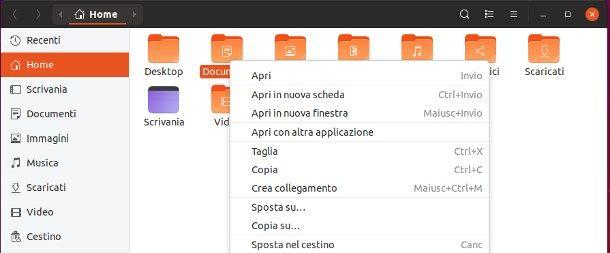 Come mettere icone sul desktop Ubuntu