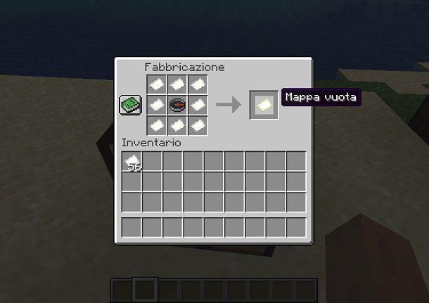 creazione mappa minecraft