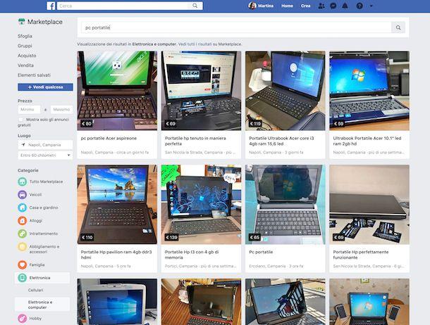 462f5266449418 Facebook. Marketplace Facebook. Anche su Facebook, il famoso social network  di Mark Zuckerberg, puoi trovare offerte per acquistare notebook ...
