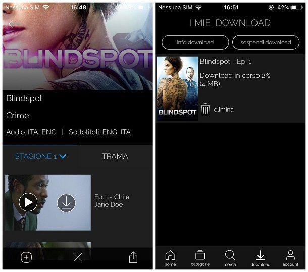 Come scaricare serie TV su iPhone - Infinity