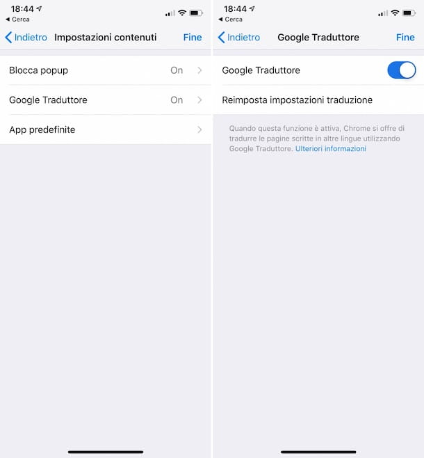 Come tradurre una pagina Web dal cellulare