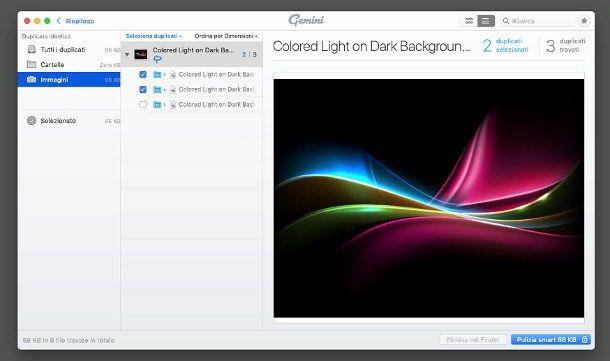 Come eliminare foto doppie da Mac