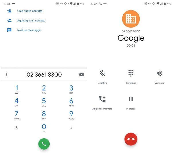 Come contattare telefonicamente Google Maps